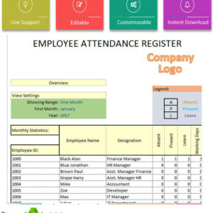 Employee Template Template124