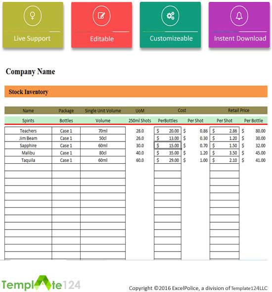 Doc798617 Company Inventory Template 8 Inventory Spreadsheet – Company Inventory Template