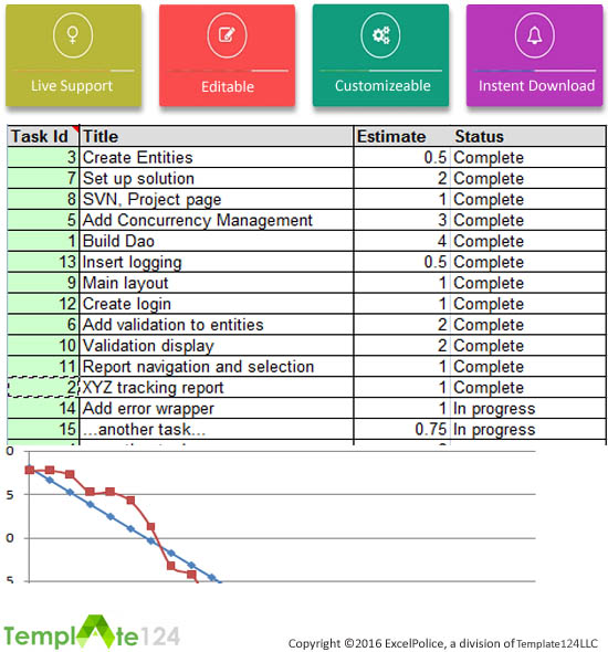 Project management template download project management schedule excel issue tracking in project management template template124 pronofoot35fo Image collections