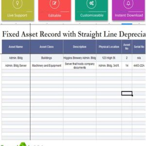 fixed asset policy template - 5 capital expenditure budget template excel template124