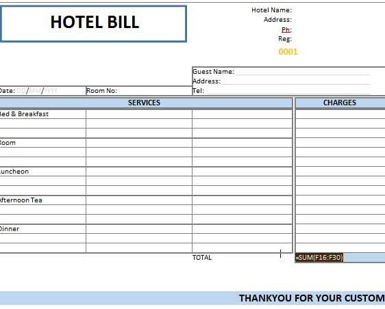 bills of sale form