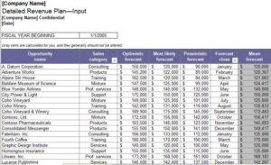 Revenue-Management-Sheet